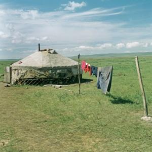 Iurta in Kazahstan
